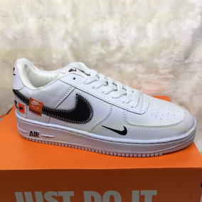 Tenis Nike Air Force One Just Do It Off White Envio Gratis