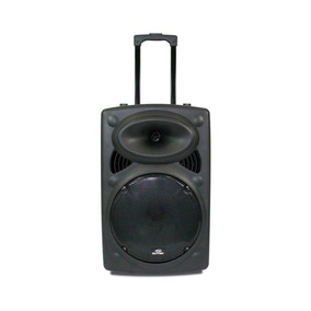 Caixa De Som Amplificada Bluetooth 300w Rms