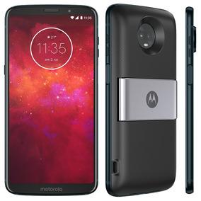 Motorola Moto Z3 Play Power Pack & Tv Xt1929/dtvi 64gb Azul