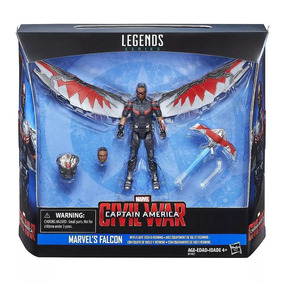 Marvel Legends Avengers Vingadores Falcon 10cm Falcão 3,75