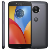 Smartphone Motorola Xt1773 Moto E4 Plus Titanium Tela 5.5