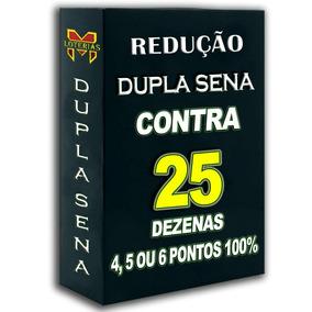 Dupla Sena-contra 25 Dezenas Método Matemático+brinde