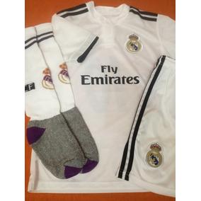 Conjunto Real Madrid Para Niños - Indumentaria en Mercado Libre ... 49a15715cb76b