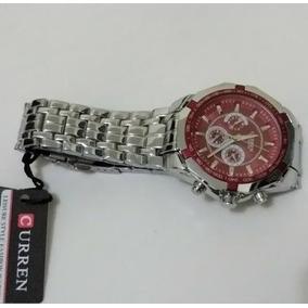 Relógio Curren Luxo 8084 Luxo Quartz Aço Inoxidável