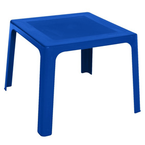 Mesa Plástico Azul Niño Niña Pequeñin Infantil Rimax