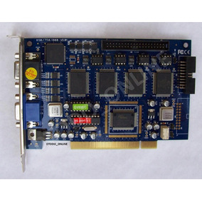 Capturadora De Video Geovision Gv800 16 De Video Y 4 Audio