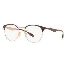 29a598e3ea14d Oculos Ray Ban De Grau Dourado - Óculos no Mercado Livre Brasil