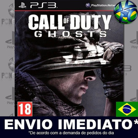 Jogo Ps3 Call Of Duty Ghosts Gold Play 3 Psn Dub Português