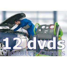 12 Dvds Curso De Ar Condicionado Automotivo De Vídeo Aulas