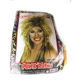 Peluca Punk Rubio C/ Luz - Fiesta & Eventos- La Golosineria