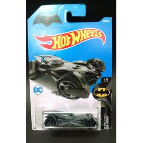 Hot Wheels 2017 Batmovel Cinza Batman Vs Superman Novo R8
