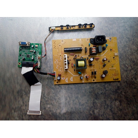 Placa Fonte,principal,c/flat,teclado Tv Monitor Aoc E2050swn