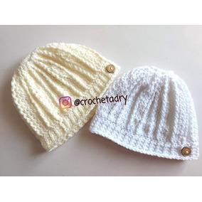 Gorro Coleta Crochet