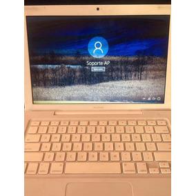 Macbook Blanca A1181 Intel Core Dúo 2.4 Ghz Con Windows 10