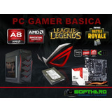 Pc Gamer 2018 Juega Fortnite,lol,gta5 500gb Quad Core