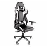 Cadeira Gamer Akasa Venom Sgc20 Preto C/ Branco