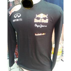 bde5af19c7599 Camisa Camiseta Red Bull Manga Longa Corrida F1 Academia