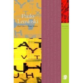 Livro Coleção Melhores Poemas - Paulo Leminski Fred Góes
