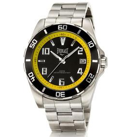 7ac89363a48 Relógio Everlast Caixa E Pulseira Aço E287