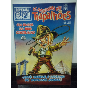 Hq As Aventuras Trapalhoes Especial Rpg 2 - Abril 1993 Rjhm