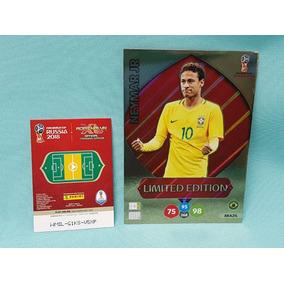 Cards Xxl Copa 2018 Limited Edition Neymar Brasil