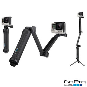 Suporte 3 Formas Gopro Para Câmeras Hero Preto - Afaem-001