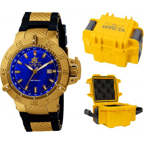 785f830a909 Relógio Invicta 5517 Subaqua Banhado A Ouro 18k Masculino - Relógios ...
