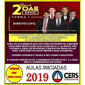 Combo Oab Xxviii + Xxvii Direito Civil Premium