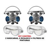 Mascara Com Filtro Para Formol - Pistolas de Pintura em Indústria ... b2a2844ca2