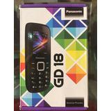 Celular Gd18 Panasonic Novo