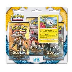 Pokémon Blister Triplo Sol E Lua - Togedemaru Croma - Copag