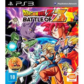 Jogo Dragon Ball Z Battle Of Z Playstation 3 Ps3 Frete Gráti