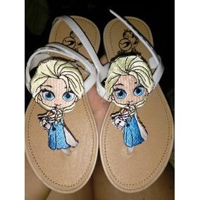Sandalias Elsa Olaf Frozen, Playa, No Disney, Moda Asiatica