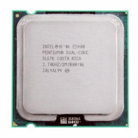 Processador Intel Dual Core E5400 2.7ghz 2mb Lga775