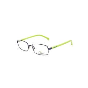 068be4e56f8e0 Oculos Grau Maxiline Feminino Azul Lacoste - Óculos Armações no ...