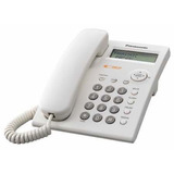 Telefono Con Cable Panasonic Kkxtsc11agw Color Blanco