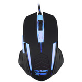 Mouse Gamer Iluminado Xfire Shinigami Azul 3200dpi