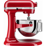 Batedeira Kitchenaid Profissional 5 Plus Stand Mixer Vermelh