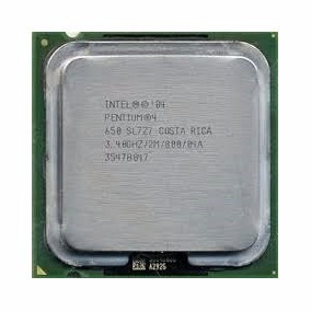 Procesador Intel Pentium 4 3.4ghz 1mb Cache Lga775 New Pull