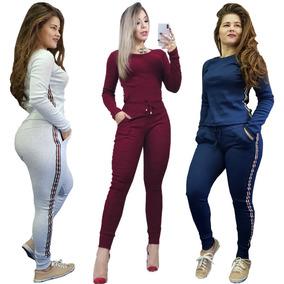 Conjunto Ribana Feminino Lançamento Revenda Calça E Blusa