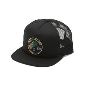 Gorra Vans Jardin Trucker Black Cap Con Red Ajustable e8c56476623