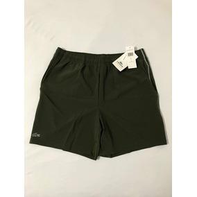 c7af3014eae66 Shorts Lacoste Refletivel (verde Musgo) Tamanho G