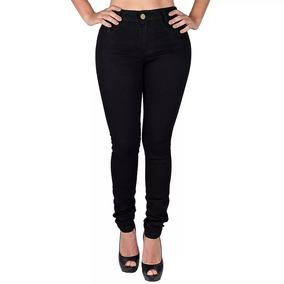 Kit 3 Calças Jeans Color Roupas Femininas Cós Alto Atacado