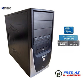 Desktop Kemex Dual Core 2.0ghz 1gb Ram Hd 160gb Wifi