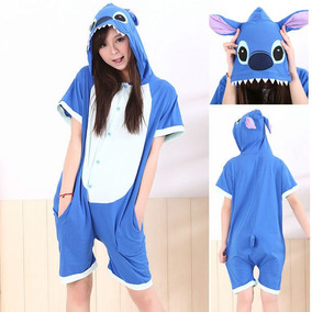 Mameluco Adulto, Kigurumi, Pijama En Short Stitch