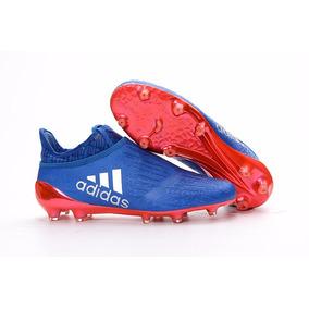 meet 73ca8 a6de2 Tacos adidas X 16+ Purechaos Blue Red Metallic