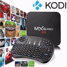 Tv Box Smart Mxq Pro 4k Android 7.1+ Miniteclado Inalambrico