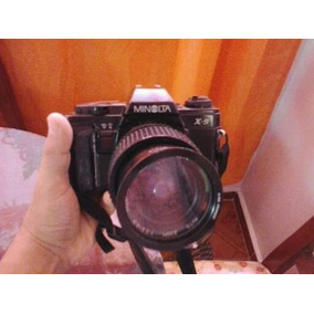 Cámara Slr Minolta X-9 35mm Con Lente Samyang