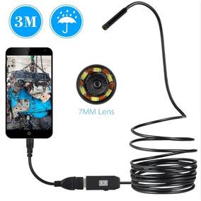 Camera Endoscopio Owsoo 0.3mp 3 M Cabo Para Android