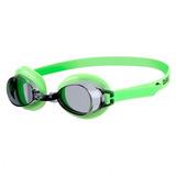 Goggle Arena Junior Bubble 3 Verde Neon/negro + Envio Gratis